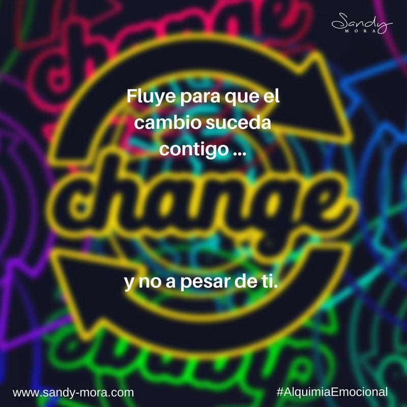 El cambio es inminente… ¡abrázalo!